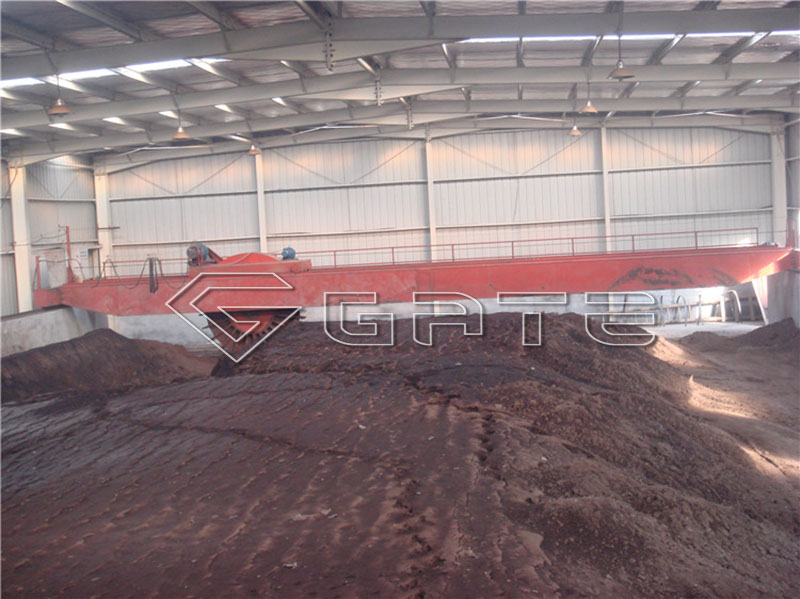 compost turner machine for fertilizer