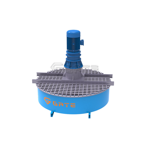 Hot Sale pan mixer for fertilizer machine