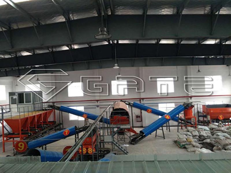 Organic Fertilizer Production Plant