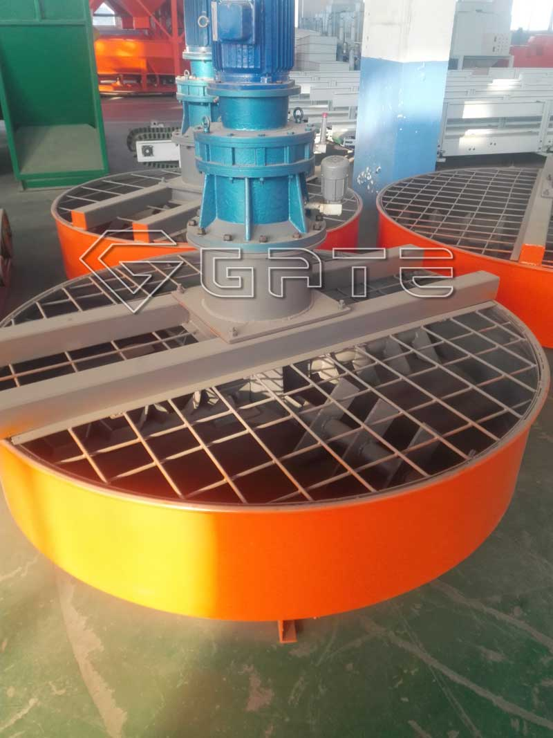 Industrial Pan Mixers for making fertilizer