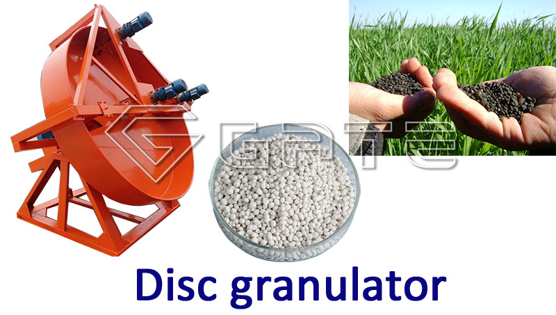 Disc granulator