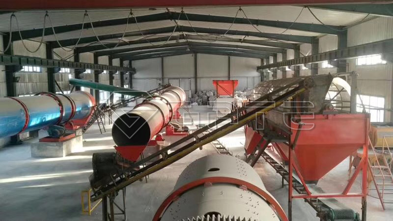 Fertilizer Cooling Machine