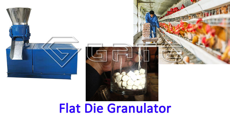 Flat Die Granulator