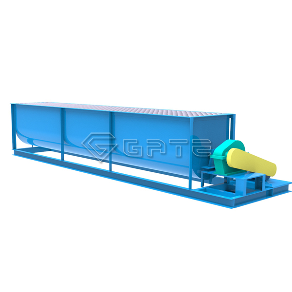 Horizontal Single Shaft Mixers for fertilizer