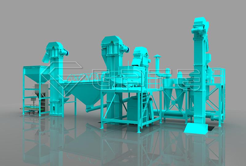 Special Dry Granulation Plant Line