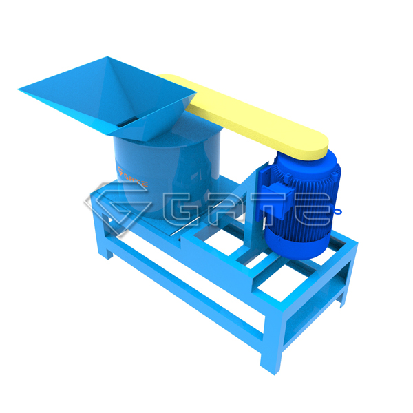 High quality fertilizer vertical shaft crusher for sale