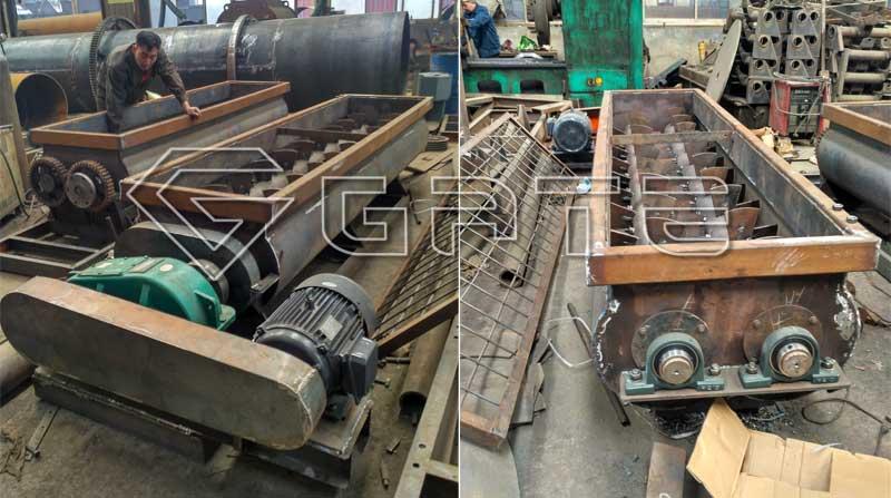 fertilizer twin shaft mixer manufactures in india