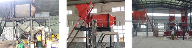 bulk blending fertilizer production line price