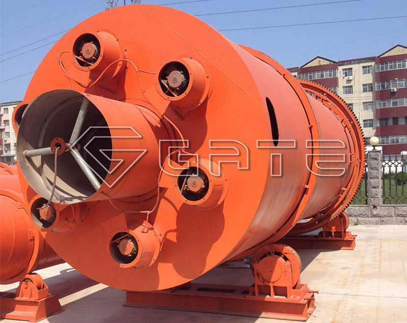 fertilizer rotary dryer diagram