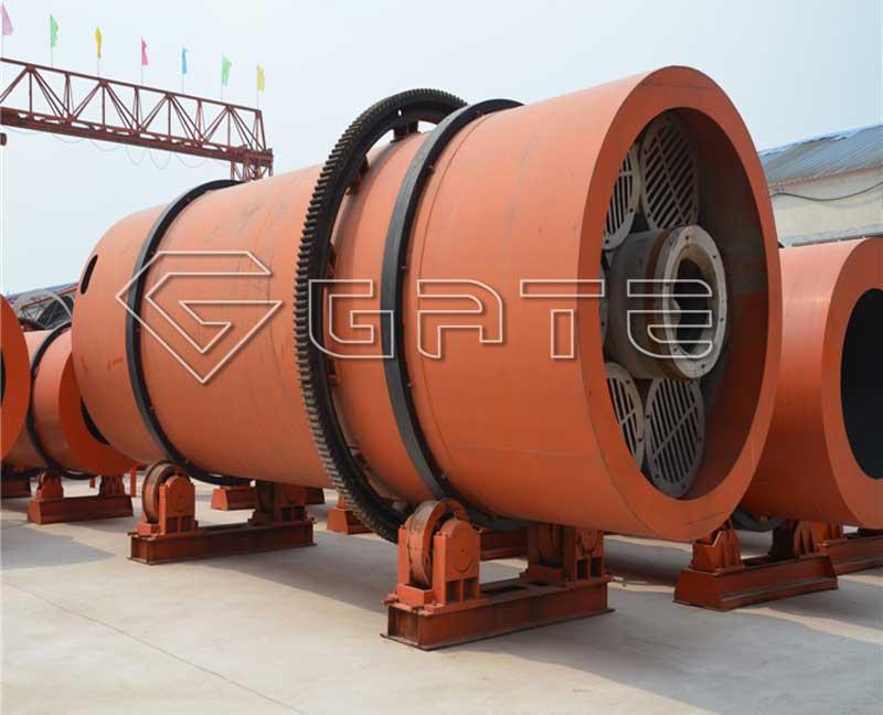 Fertilizer rotary drum dryer for sale