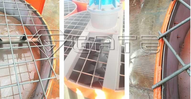fertilizer pan mixer design