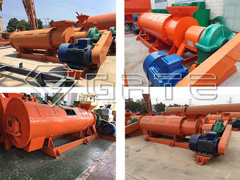 organic waste to fertilizer granulator machine