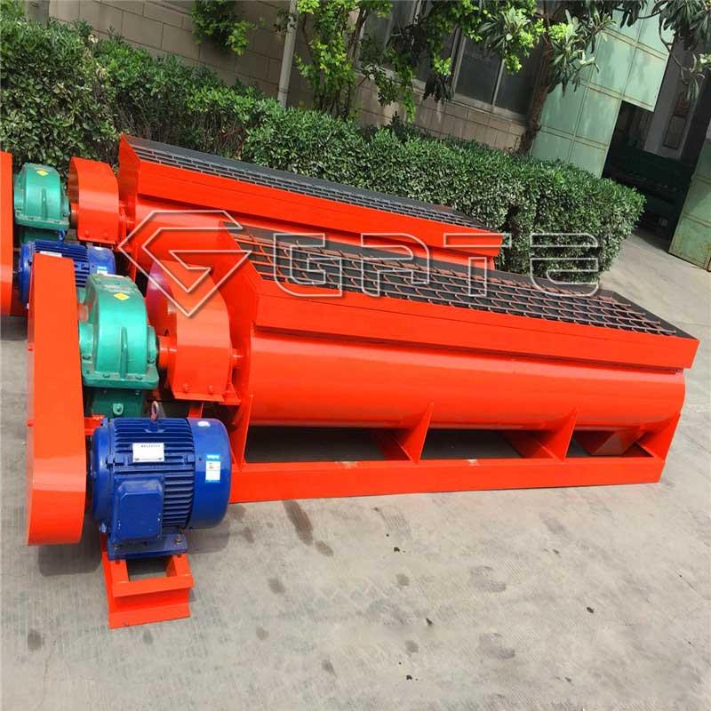 fertilizer twin shaft mixer manual